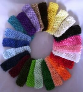Baby-Toddler-Girls-Crochet-Headband-any-colour-x-1-each