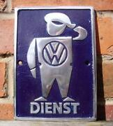 Cast Aluminium Sign