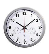 Wanduhr Thermometer