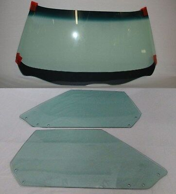 1973 1974 CORVETTE CONVERTIBLE WINDSHIELD DOOR GLASSES DATED TO MATCH YOUR CAR