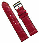 Breitling Two-Piece Strap Red Wristwatch Bands