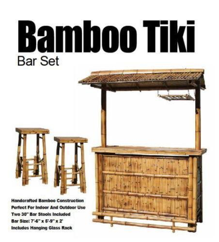 Tiki Bar Set Ebay