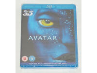 DVD FILM MOVIE 3D BLURAY JAMES CAMERONS AVATAR BLU RAY DTS PANASONIC EXCLUSIVE.*