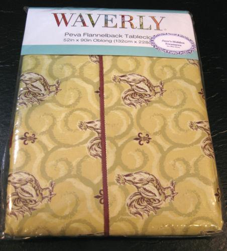 Lovely Waverly Tablecloth