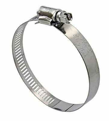 LINDEMANN 10-Pack Hose Clamps Stainless Steel KS 52-76mm