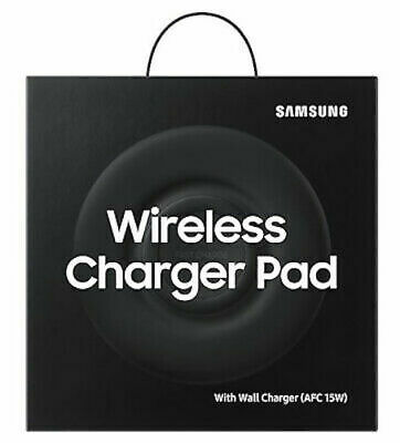Samsung Original Fast Wireless Qi Compatible Charger Pad / 15W UK Mains Adapter