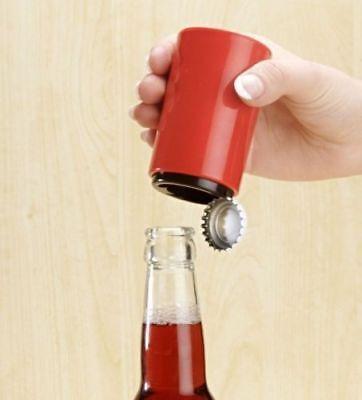 Rot Flaschenöffner (automatischer Flaschenöffner , Bier Öffner , Kapselheber , Kronkorken , rot )