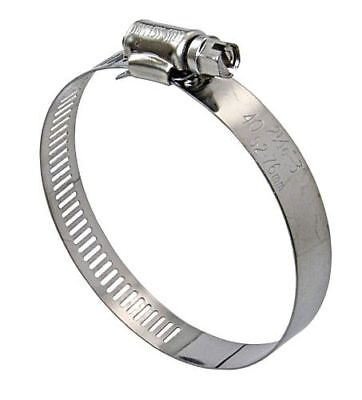 LINDEMANN 10-Pack Hose Clamps Stainless Steel KS 65-89mm