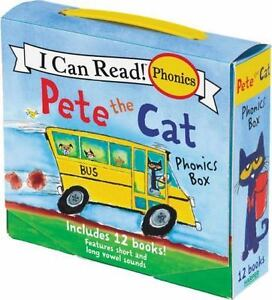 My First I Can Read: Pete the Cat Phonics Box by James Dean (2017, Paperback)