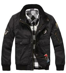 Smooth Mens Color Block Leather Jacket p8WdD0Aze