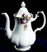 Royal Albert Coffee Pot