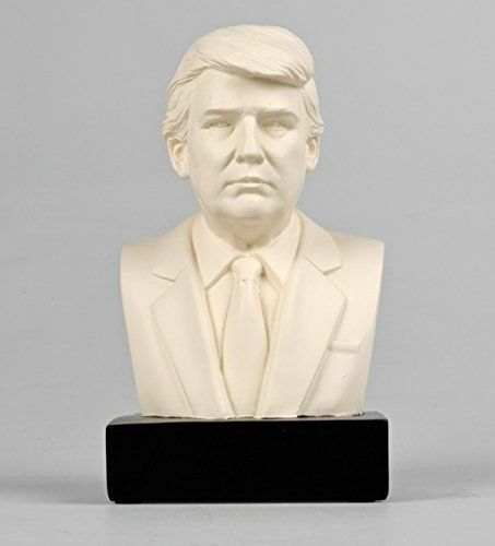 Donald J Trump Historical Bust Statue Collectible Sculpture PERFECT HOLIDAY GIFT