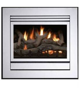 Gas log Fire Small Matrix Brand New Stainless Steel Must go ASAP Berwick Casey Area Preview