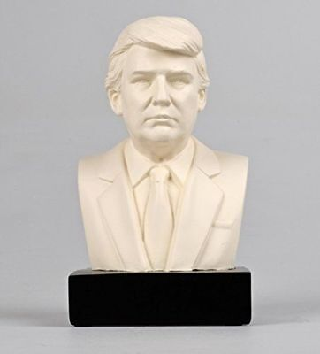 Collectible President Donald J Trump Historical Bust Statue Sculpture Figure