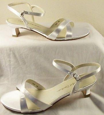 Flower Girl Bridal Slingback Sandal Pumps Size 13 - Flower Girl Sandals