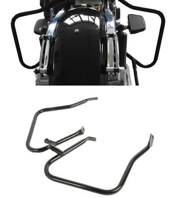 Black Saddlebag Bags Guard Bracket For Harley Touring Models 2014-2018 for sale  San Francisco