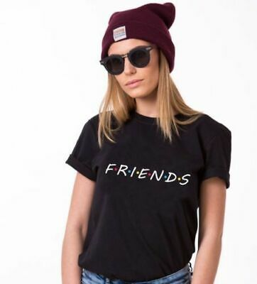 как выглядит Hot Friends T-Shirt TV Show Inspired Women Fashion Tee Tops Tumblr t shirts us2 фото