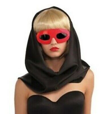 Lady Gaga Sunglasses Licensed Oval Frame Dark Shaded - Lady Gaga Brille