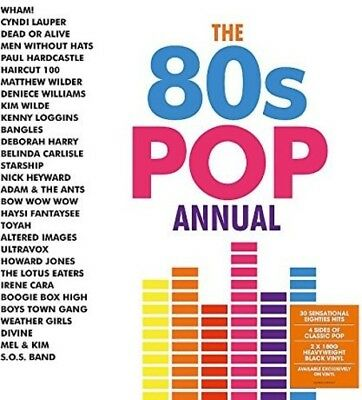 Various Artists - 80s Pop Annual / Various [New Vinyl LP] UK - Import