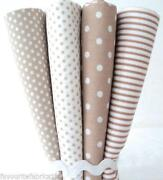 Beige Stripe Fabric