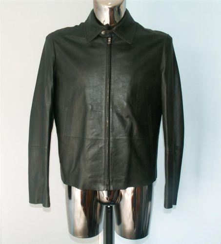 b248f6cb525 Hugo Boss Leather Jacket