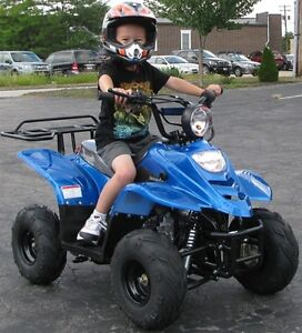 Kids ATVs. 110cc, 125cc and electric available.