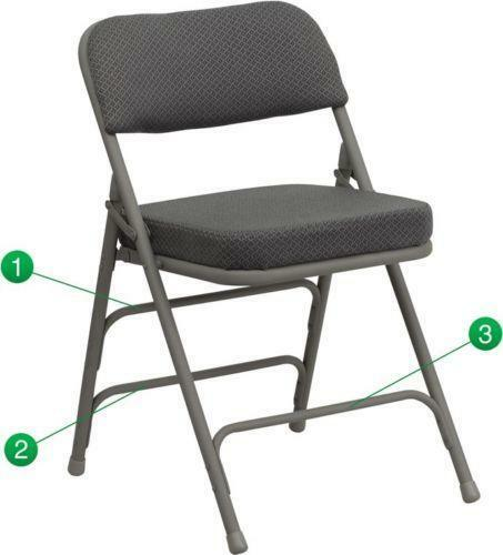 Padded Folding Chairs Ebay