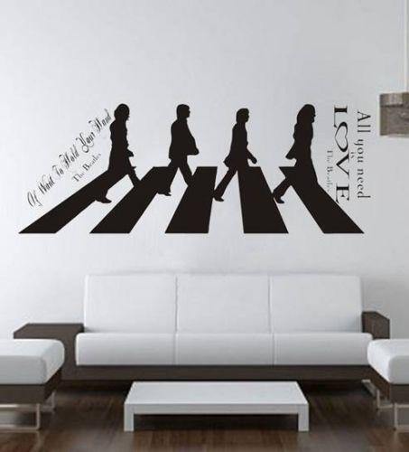 : beatles wall decals - www.pureclipart.com
