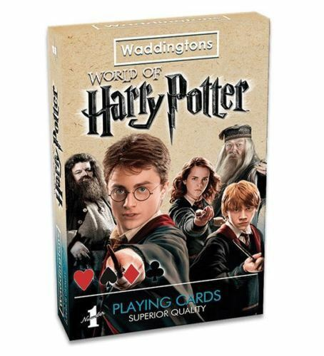 WADDINGTONS WORLD OF HARRY POTTER PLAYING CARDS
