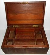 Wood Cash Box