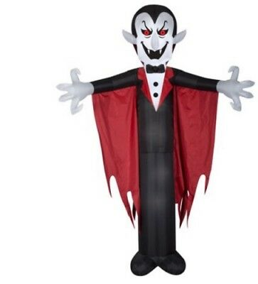 Halloween Airblown Inflatable Vampire with Cape 12FT Tall  NEW](Halloween Airblown Inflatables)