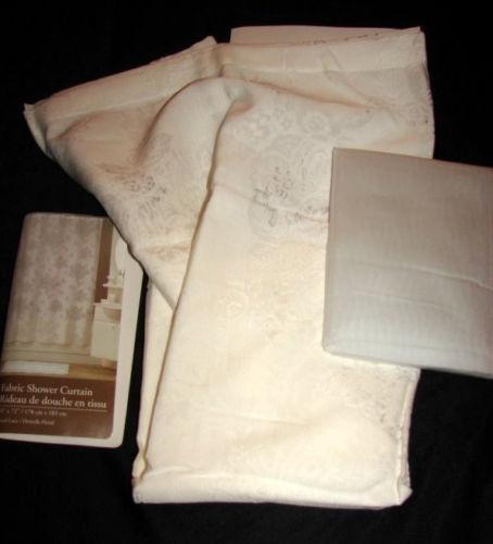 Cotton Shower Curtain | eBay