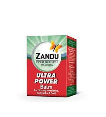 ZANDU BALM ULTRA POWER BEST TREATMENT For Muscle Pain Free