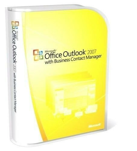Microsoft Office Outlook 2007 Full Retail With Business C...