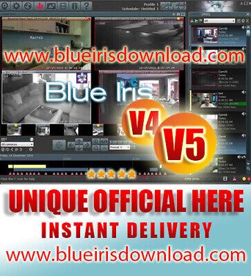 Blue Iris Pro v5.x  Video Camera Security Software - Full Li