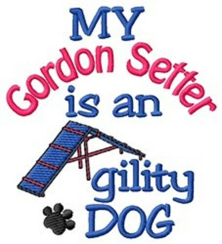 My Gordon Setter is An Agility Dog Long-Sleeved T-Shirt DC1904L Size S - XXL