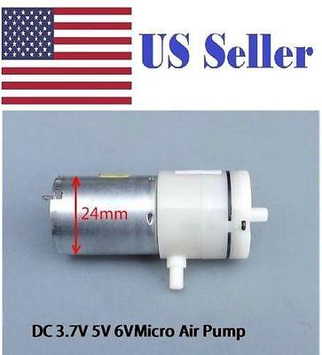 New 6V DC 370 High-power Small Mini Micro Air Pump Aquarium Air Vacuum