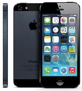 IPHONE 5 16GB UNLOCKED DEBLOQUE APPLE 100% EN TRES BONNE CONDITION FIDO ROGERS TELUS BELL CHATR VIRGIN MOBILE KOODO+++
