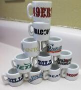 NFL Mini Mugs