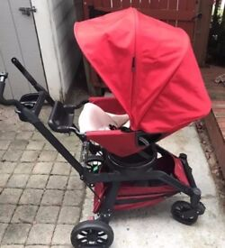 Orbit G3 Travel System with infant car seat and toddler stroller seat+2 car base