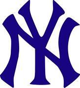 New York Yankees Car Decal
