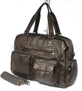 Mens Leather Duffle Bag 637adee623cc5