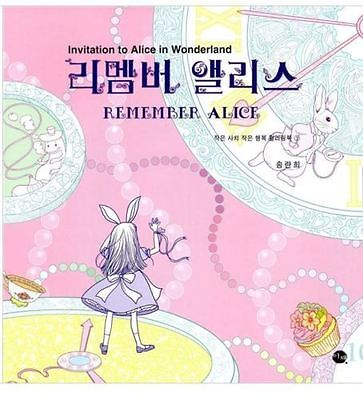 Preview Alice in Wonderland Coloring Book For Adults   - Alice In Wonderland For Adults