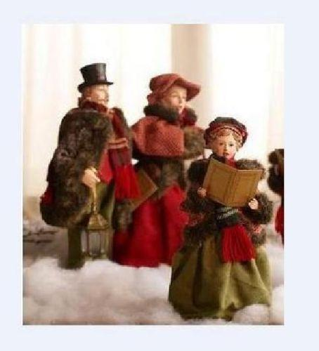Singing Carolers Candleholders Figurines Vintage By: Christmas Carolers Figurines