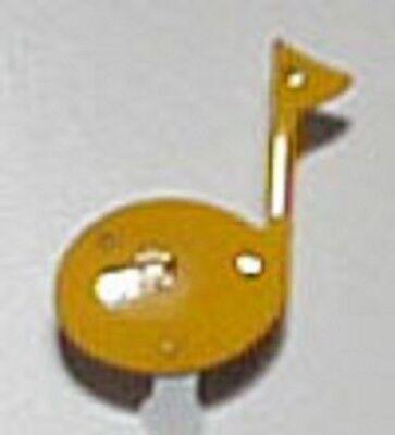 10 pcs. LED Blinkies Party lights Body Lights Flashing Magnetic Pin (Music - Blinkies Lights