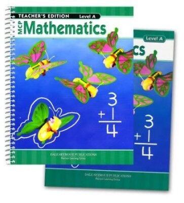 1st Grade 1 MCP Mathematics Level A Math Homeschool Bundle Modern Curriculum Pre Mcp Math Level