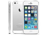 iPhone 5 white on o2 £110