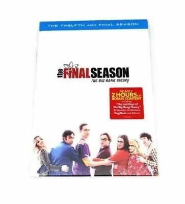 THE BIG BANG THEORY: Complete Final Season 12 (3-Disc DVD Set)