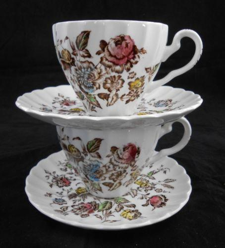 Staffordshire Bouquet Johnson Brothers Ebay