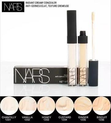 New NARS Radiant Creamy Concealer 6ml Full Size Brand New Boxed Free Fast